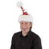 Deluxe Springy Santa Hat